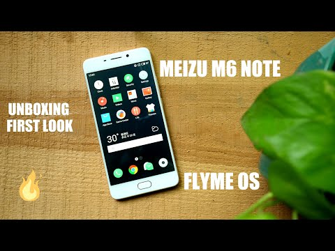 Meizu M6 Note Unboxing and First Look