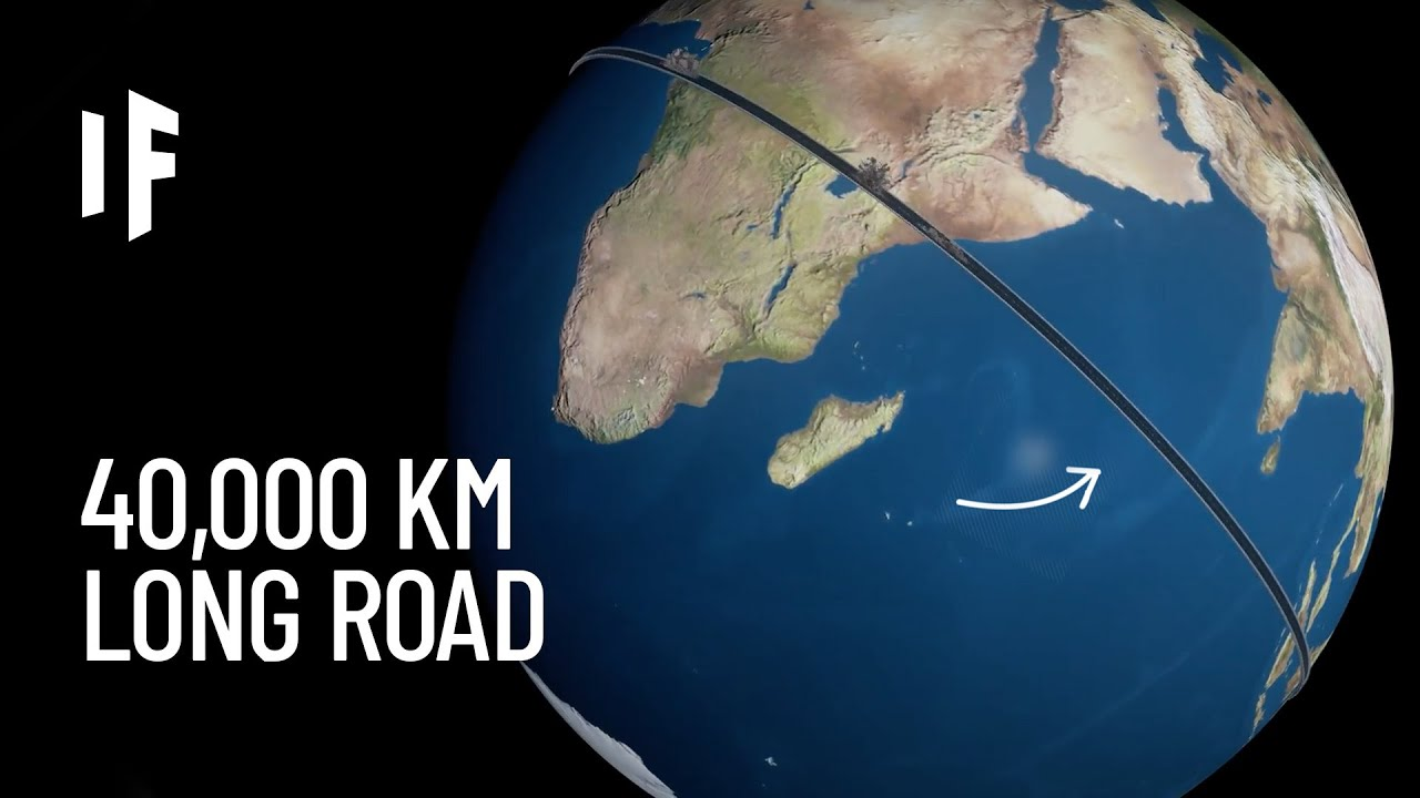 What If We Built a Road Around the World?