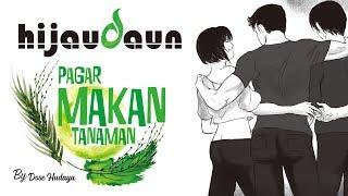 Hijau Daun - Pagar Makan Tanaman (Official Video Karaoke)