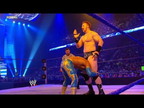 SmackDown: Sin Cara vs. Sheamus