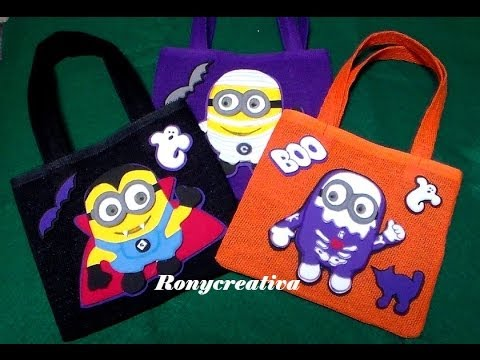 HALLOWEEN MONSTERS MINIONS / DESPICABLE ME HALLOWEEN DIY - YouTube