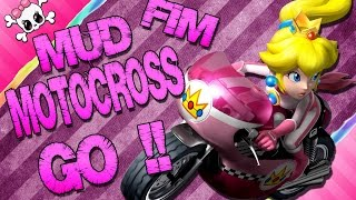 On fait chauffer l'moteur sur MUD FIM Motocross !!!