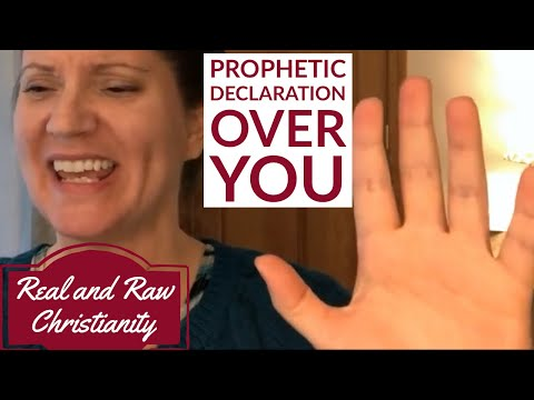 Prophetic Declaration over you! | Sybella Owens