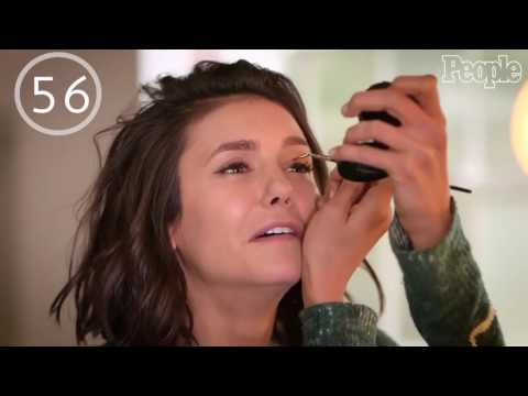 Can Nina Dobrev Go from No Makeup to Red Carpet Ready in 90 seconds?