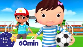Soccer Song | +More Nursery Rhymes and Kids Songs | Little Baby Bum