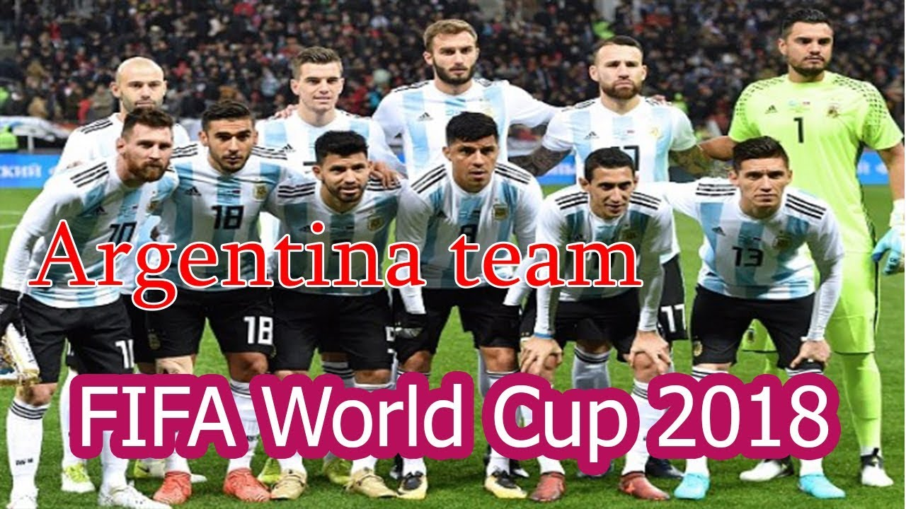 2e201de12 Argentina Football Squad 2018 FIFA World Cup Russia - YouTube