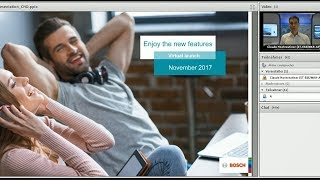 Bosch Security- Management Software virtual launch November 2017