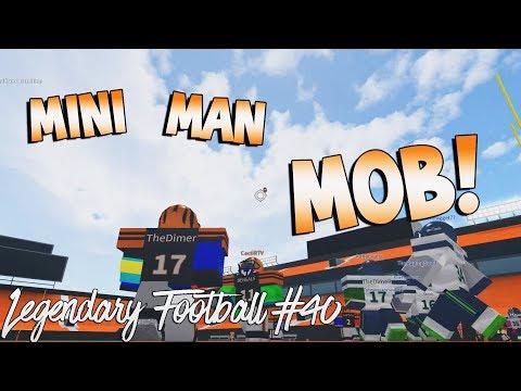 Mini Man Mob Legendary Football Funny Moments 40 Youtube