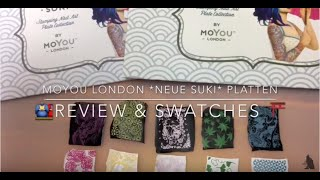 MoYou *Neue SUKI* Platten - Review & Swatches / DEUTSCH