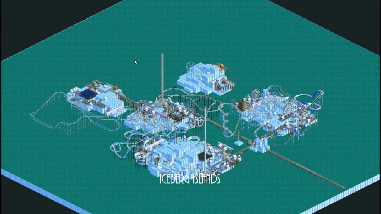 Roller Coaster Tycoon Success (ALL PARKS INCLUDING CF & LL)