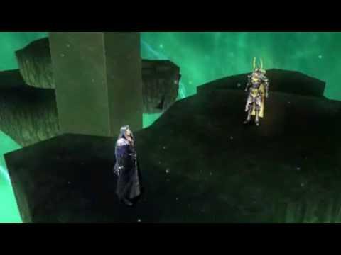 Dissidia: Final Fantasy Warrior of Light vs Sephiroth Storyline Cinematic Replay HQ