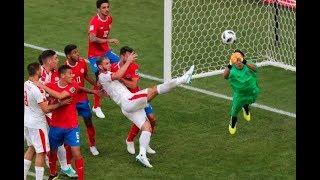 Costa Rica vs. Serbia: Lo bueno y lo malo