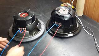 2 parte de como conectar los woofer doble bobina