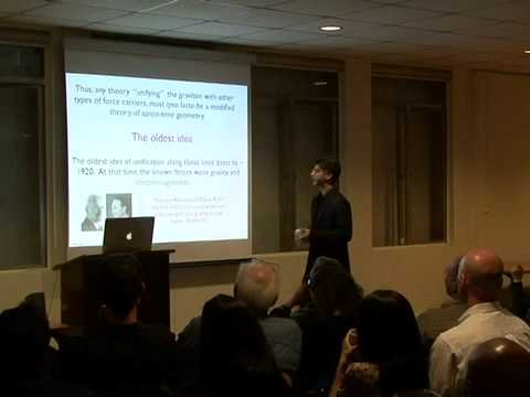 """Shamit Kachru (Stanford) on """"Are there more dimensions of space?"""" at a LASER"""