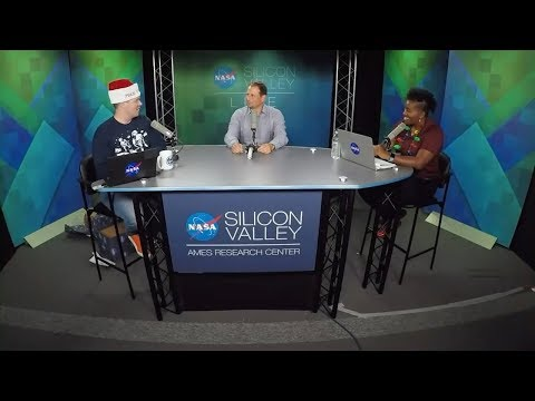 NASA in Silicon Valley Live - Holiday Unboxing