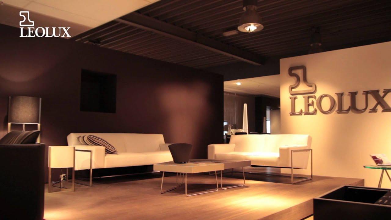 Van der Donk interieur Leolux meubelen - YouTube