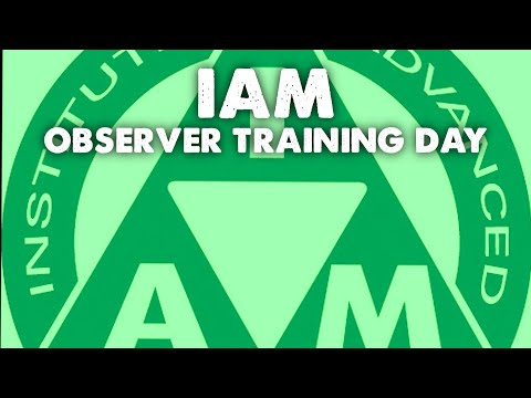 IAM Observer Training Day