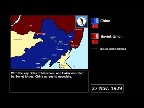 {Wars} The Sino-Soviet Railway War (1929): Every Day