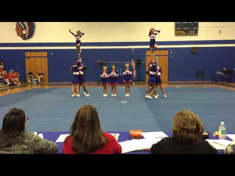 Brookline High School Cheer at Bay State Leagues