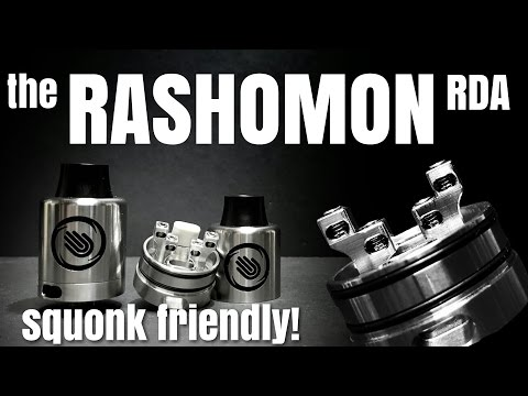 Rashomon RDA - A little of this and that to make a 24mm corker!
