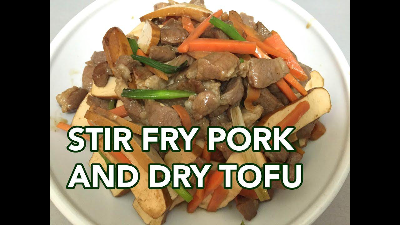 how to cook tofu stir fry youtube