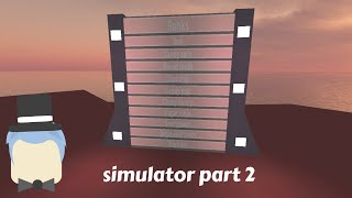 Roblox How to make a simulator part2, credits to ice wolf for help