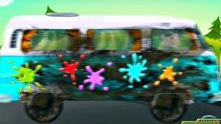 Игры для детей: автомойка. Мультики про машинки