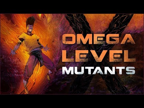 Every Omega Level Mutant In The Marvel Universe