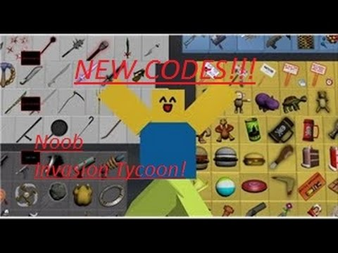 OMG NEW CODE FOR Noob Invasion Tycoon | COME NOW! (ROBLOX!)