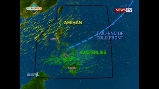 BT: Weather Update As Of 12:29 P.m. (January 14, 2018)