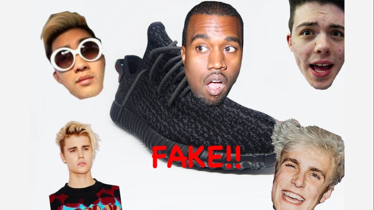 b5bf0b84e132e EXPOSING FAMOUS CELEBRITIES FOR WEARING FAKE YEEZY S!! - YouTube