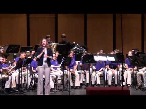 2013 Paul Breaux Middle School Intermediate Band 05.16.2013