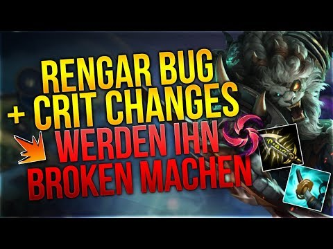 Rengar Bug + Crit Changes = Free Elo [League of Legends] [Deutsch / German] thumbnail