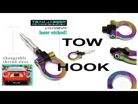 Uboxing / Review | Scion FRS BRZ NEO Chrome TOW HOOK Set