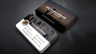 Hướng dẫn thiết kế danh thiếp bằng Photoshop | Hải Thanh Design