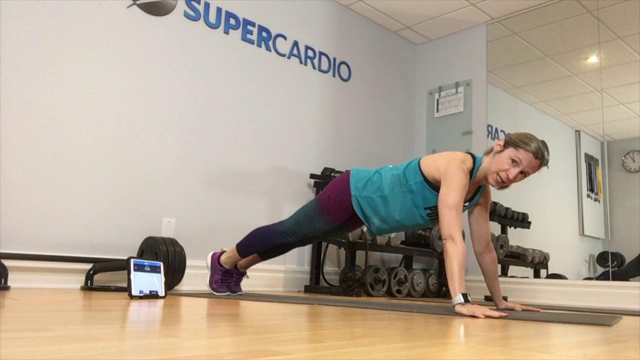 La minute de + Supercardio : Pyramid push-up de Focus T25 Gamma