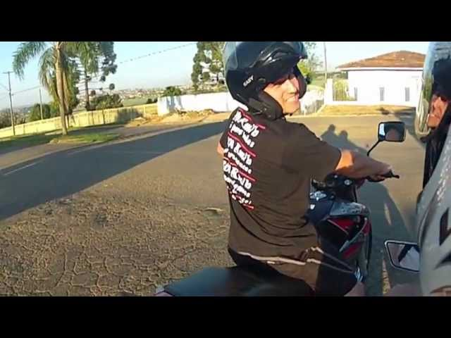 Eu - Falcon x Will Cb 300 no grau Travel Video