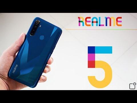 รีวิว Realme 5 สมาร์ทโฟนสุดคุ้มราคาไม่ถึง 6 พัน กล้องหลัง 4 ตัว