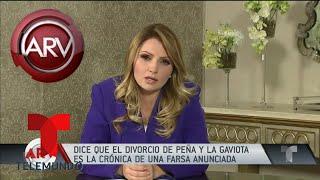 Angélica Rivera buscaría remuneración millonaria | Al Rojo Vivo | Telemundo