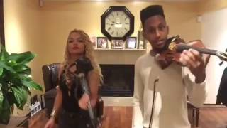 Charly Black ft Linky First - Gyal You A Party Animal ft Rock And Come In Violin Cover