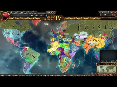 Europa Universalis 4 Timelapse : Extended timeline mod Present day bookmark [2014-2214]