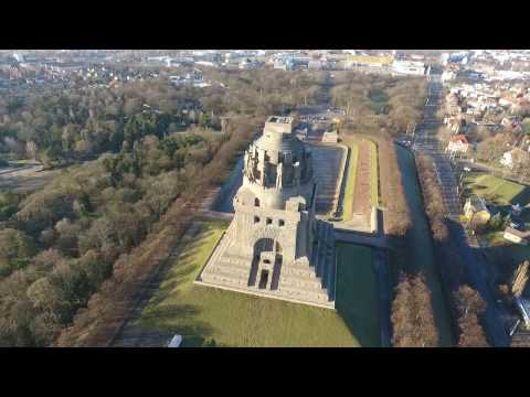 Home sweet home - Fly over Leipzig - Phantom 4