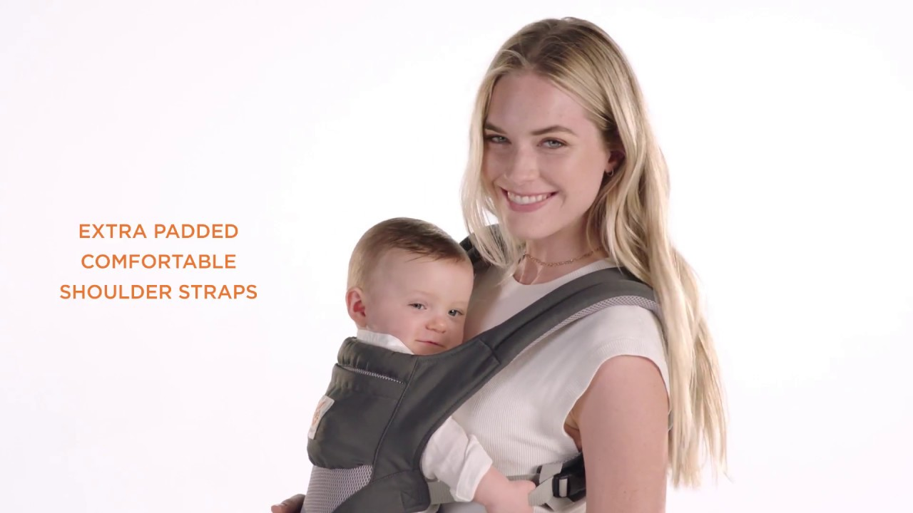a972427f2ec Ergobaby Cool Air Mesh Hip Seat - YouTube