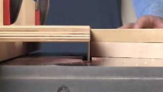 Table Saw Pattern Cutting