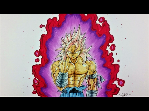 Drawing BANASES Super Saiyan ROSE