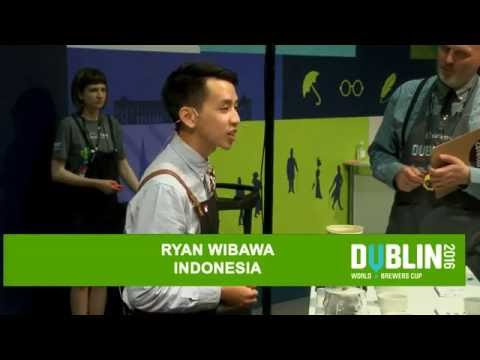Ryan Wibawa - Starbucks Coffee Indonesia - 2016 World Brewers Cup Championship in Dublin