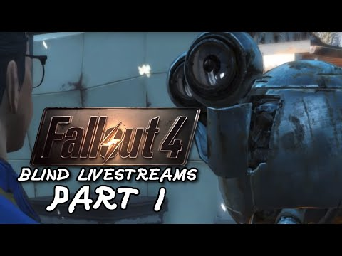 COMMONWEALTH SAMURAI | Fallout 4 Blind! | Part 1