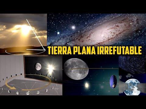 Sol, Luna, Estrellas DEMUESTRAN Tierra Plana. Ultra Irrefutable