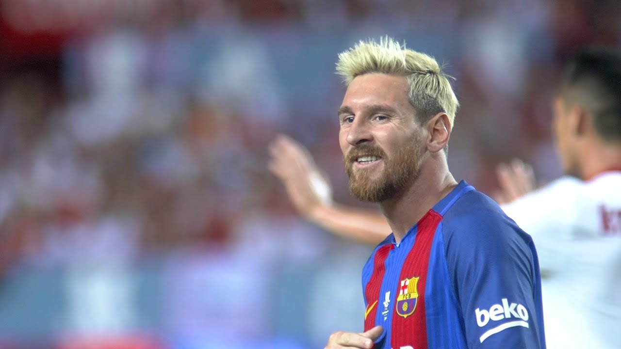 Download Lionel Messi vs Sevilla (Away) 16-17 HD 1080i (Spanish Super Cup) - English Commentary