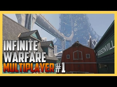 Infinite Warfare Multiplayer Gameplay on Throwback and Terminal remake (COD XP 2016) | Swiftor